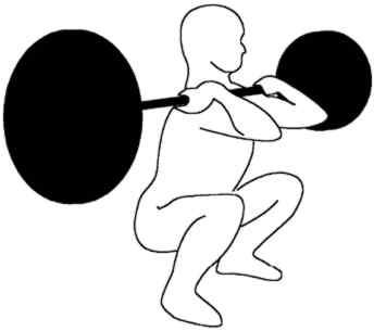 squatting and hip flexor pain
