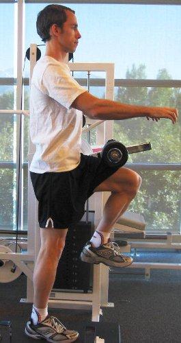 hip flexor machine active