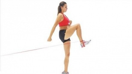 4 Hip Flexor Exercises with Bands
