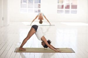 Hip Flexor strengthening: Yoga poses